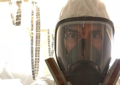 Protection intégrale pour sprayer le primer