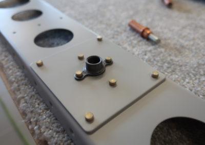 Rudder detail