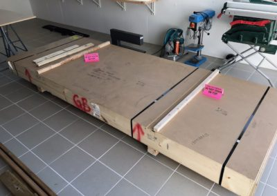 Empennage kit crate