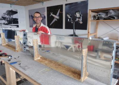 The horizontal stabilizer