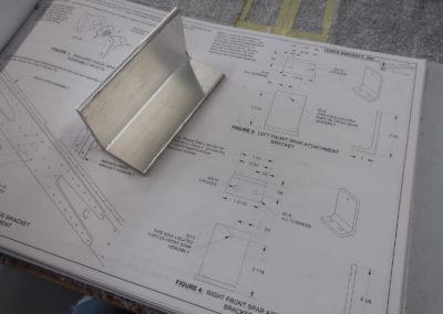 Cornière aluminium brute